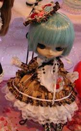 Prototype Dal Blue Hair Brown Dress 2009