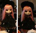 Prototype Pullip Dark Lolita Pink Hair 2009