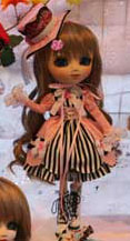 Prototype Pullip Pink Black White 2009