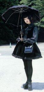 Kuro Lolita style