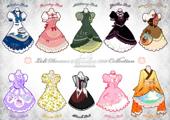 Lolita styles by Neko-VI