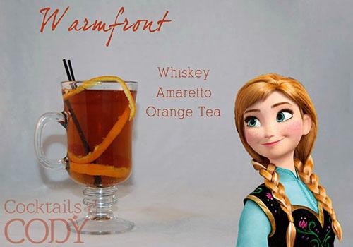 Cocktail Disney Princess Anna by Cody