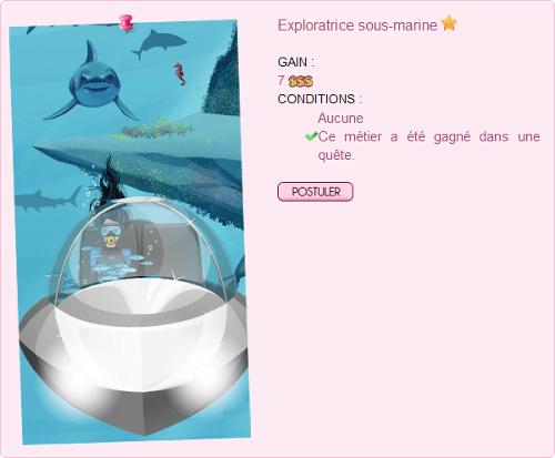 Exploratrice Sous-marine