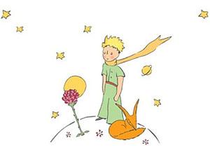 Le Petit Prince Renard Rose