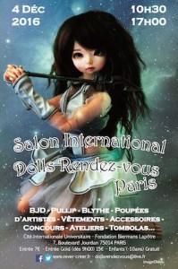 Flyer Doll Rendez-vous Paris 2016