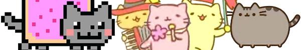 NyanCat MitchiriNeko Pusheen video