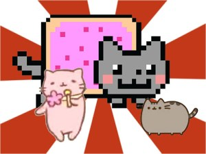 Nyancat MitchiriNeko Pusheen