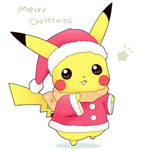 Pikachu christmas Tumblr Merry christmas to all