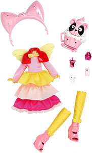 Kuukuu Harajuku fashion set Pink Cupcake
