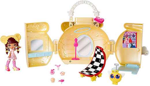 Kuukuu Harajuku Little purse playset Angel