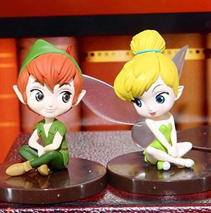 Qposket Disney Peter Pan Clochette Tinkerbell