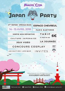 Japan Party 8 flyer
