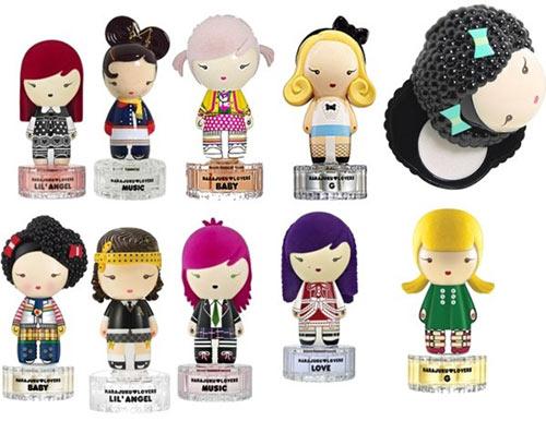 Kuukuu Harajuku doll perfumes
