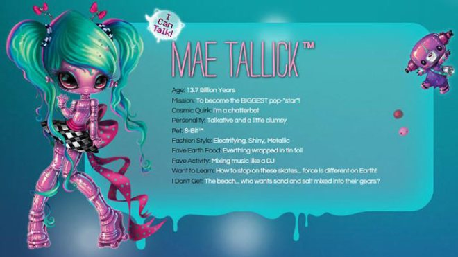 Novi Stars Mae Tallick description