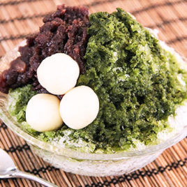 Kakigori the matcha