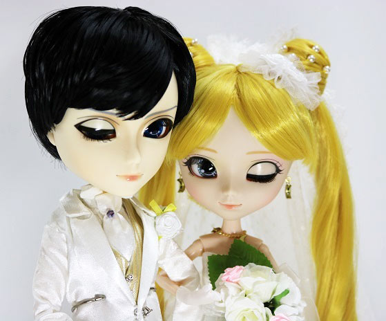Zoom Pullip Usagi Tsukino Taeyang Mamoru Chiba wedding version bonus