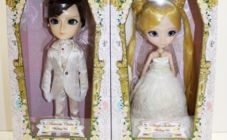 Zoom Pullip Usagi Tsukino Taeyang Mamoru Chiba wedding version box