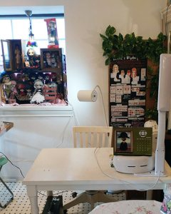 NS doll cafe shop workspace