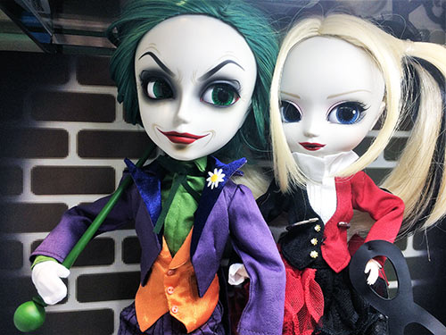 Taeyang The Joker Pullip Harley Quinn Dress version Kiddyland shop