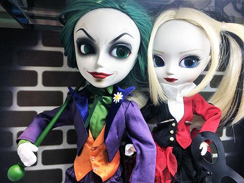 Taeyang The Joker Pullip Harley Quinn Dress version Kiddyland shop