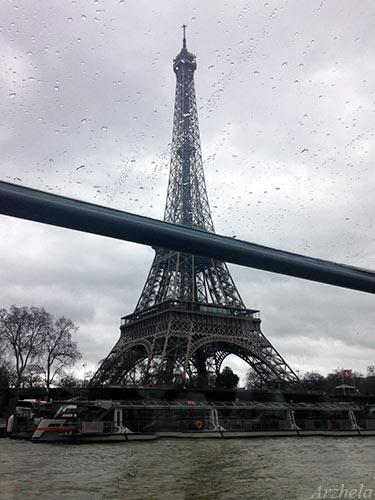 Bateaux mouches Tour Eiffel 2016