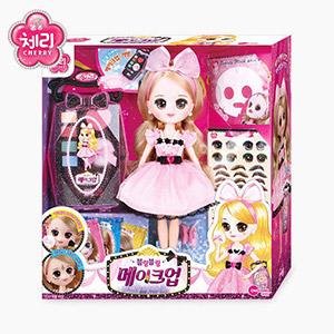 Cherry make-up doll