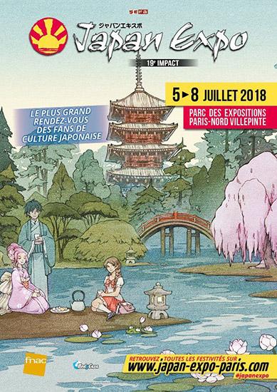 Affiche Japan Expo 2018