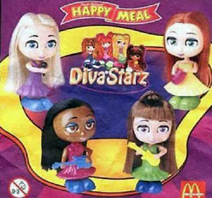 Starz Mc Donalds dolls