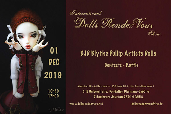 Dolls Rendez-vous in Paris 2019