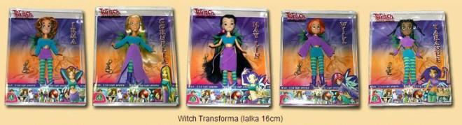 Disney witch dolls 16 cm transformation
