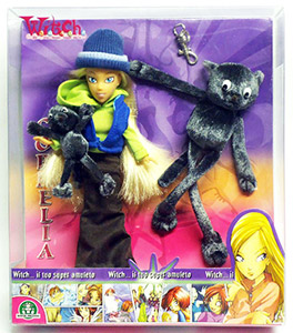 Disney Witch dolls mascotte Cornelia chat Napoleon