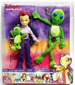 Disney Witch dolls mascotte Hay Lin martien