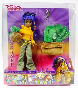 Disney Witch dolls mascotte Taranee cactus