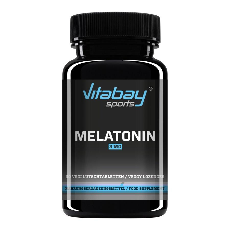 Vitabay Melatonin Lutschtabletten mit 3 mg Konzentration