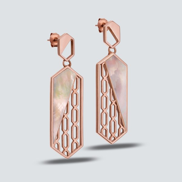 Arabesque Pattern Earring