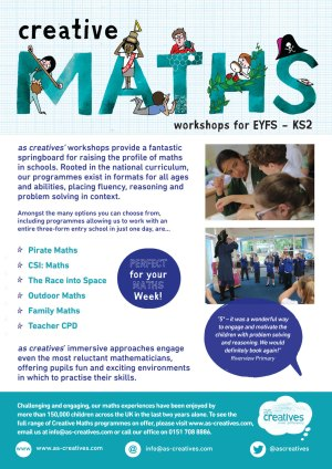 Maths Workshops for Primary Schools