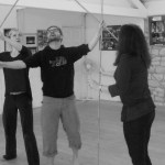 AsCend Physical Theatre Rehearsal