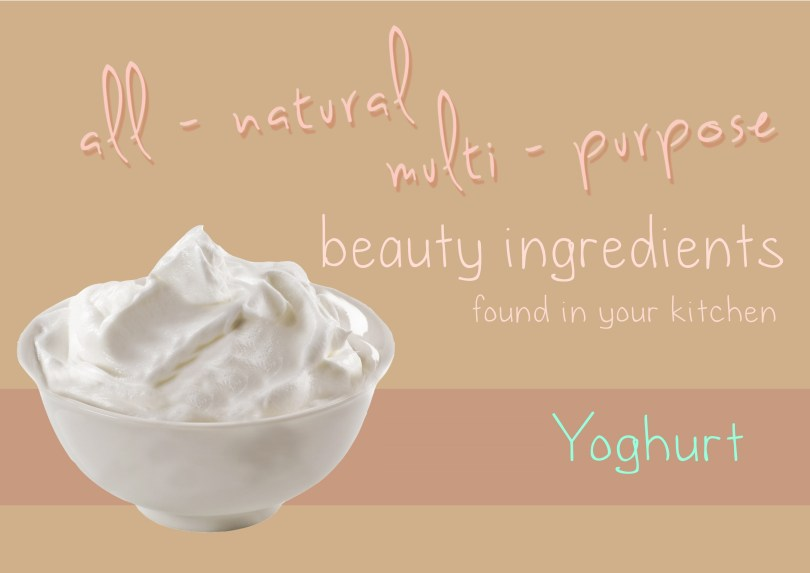 Use of Yoghurt in Cooking and Beauty Treatment