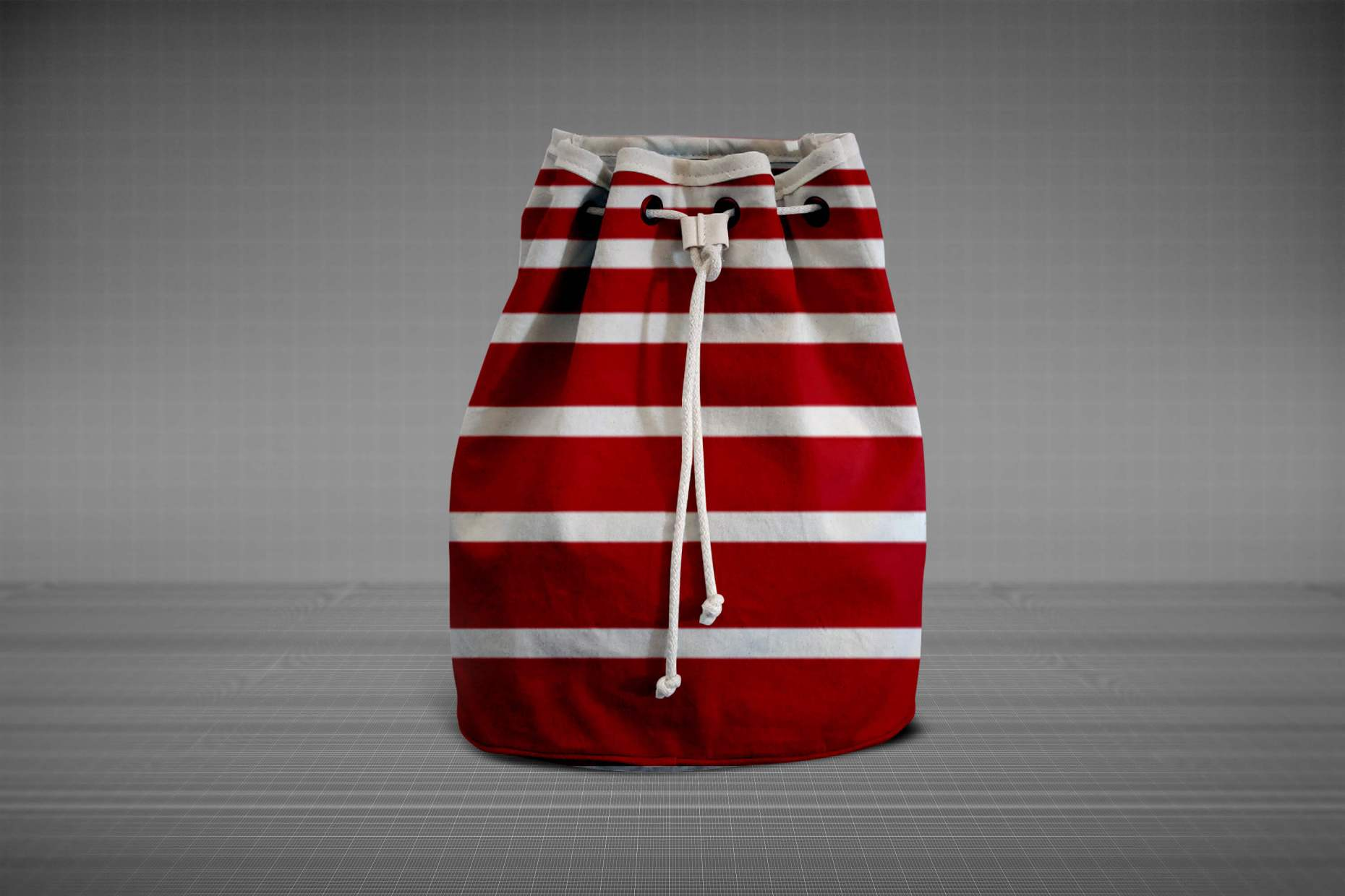 Uddannelse: Produkt og Emballage rødstribet taske
