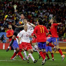 España agota la mala suerte