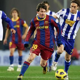Brillante 2010 de Messi: 62 goles en 67 partidos