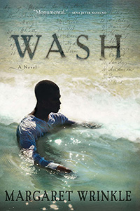 "cover of the novel ""Wash"""
