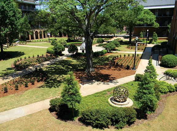 Woods Quad Sculpture Garden