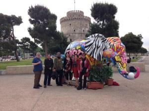 Alabama Greece Initiative participants in Thessaloniki.