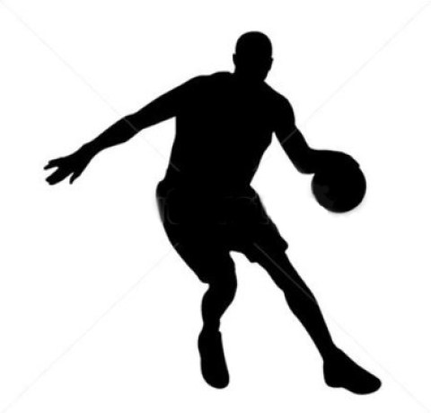 silhouette basketball player 41107783 - Roster