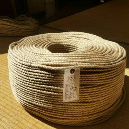 Cordes en jute pour le shibari (Japon)