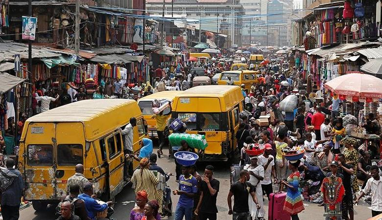 Street scene in Nigeria
