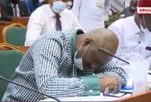 Photo of VIDEO: Nigerian official collapses during televised corruption hearing