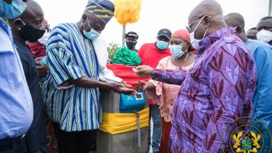 Photo of President Akufo-Addo commissions Nalerigu water project