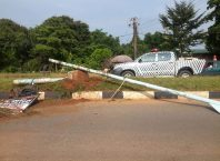 Photos From Accident Scene Along Summit Road Asaba